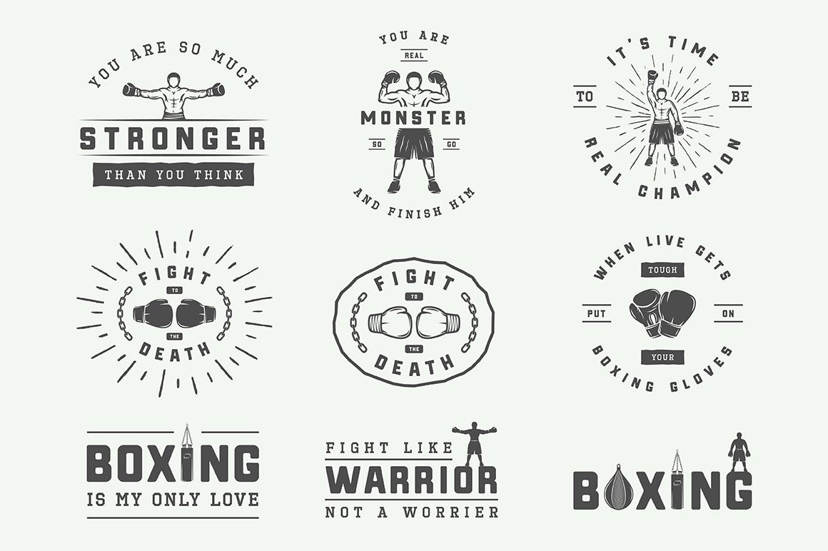 Vintage Boxing Bundle