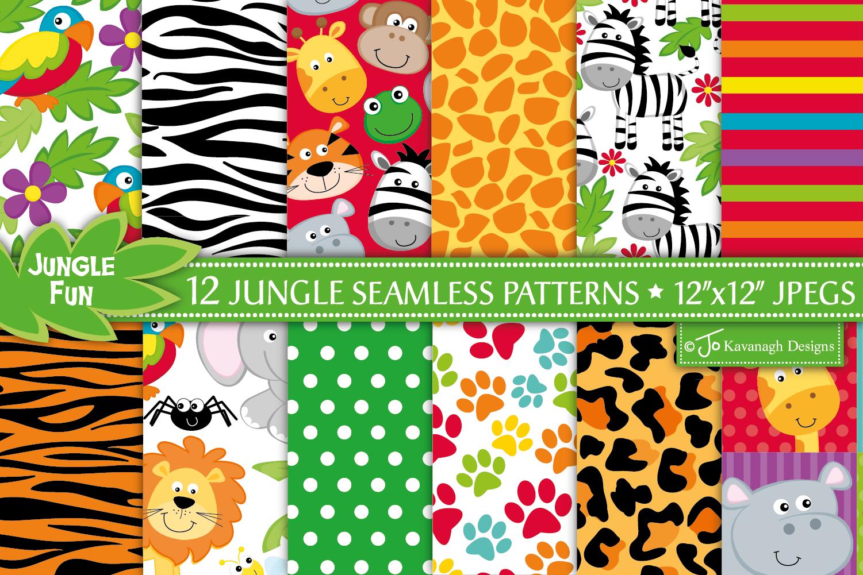 Jungle Digital Papers Jungle Patterns Jungle Animals P15