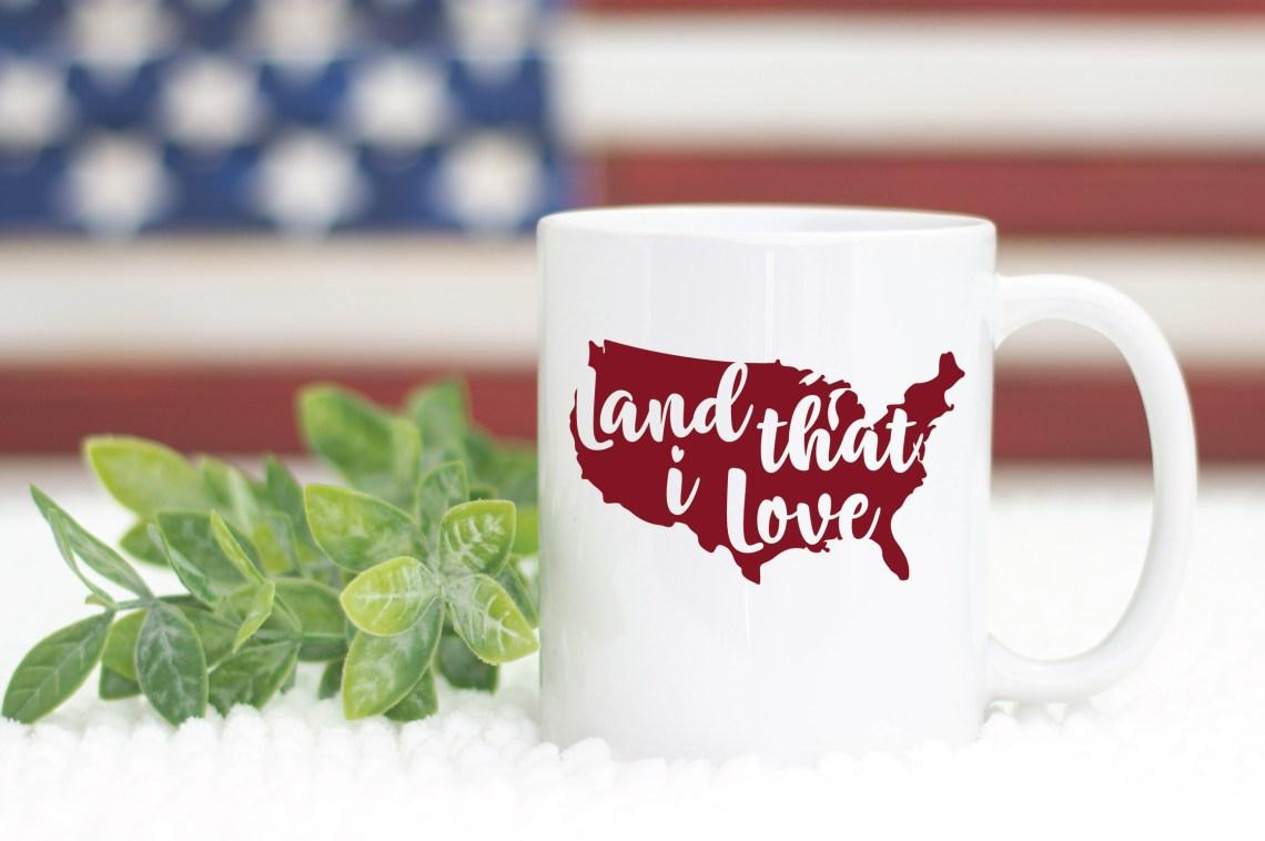 Download Land that I Love SVG Cut File - Patriotic SVG DXF EPS PNG