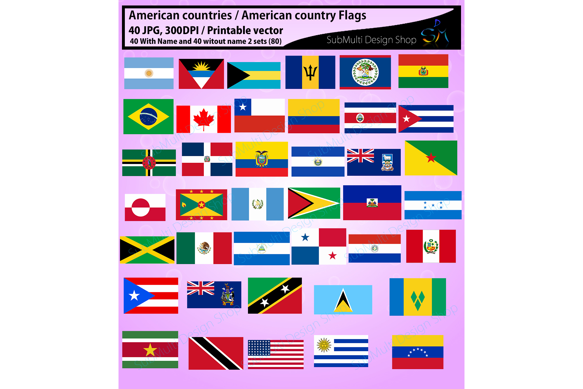 american countries american country