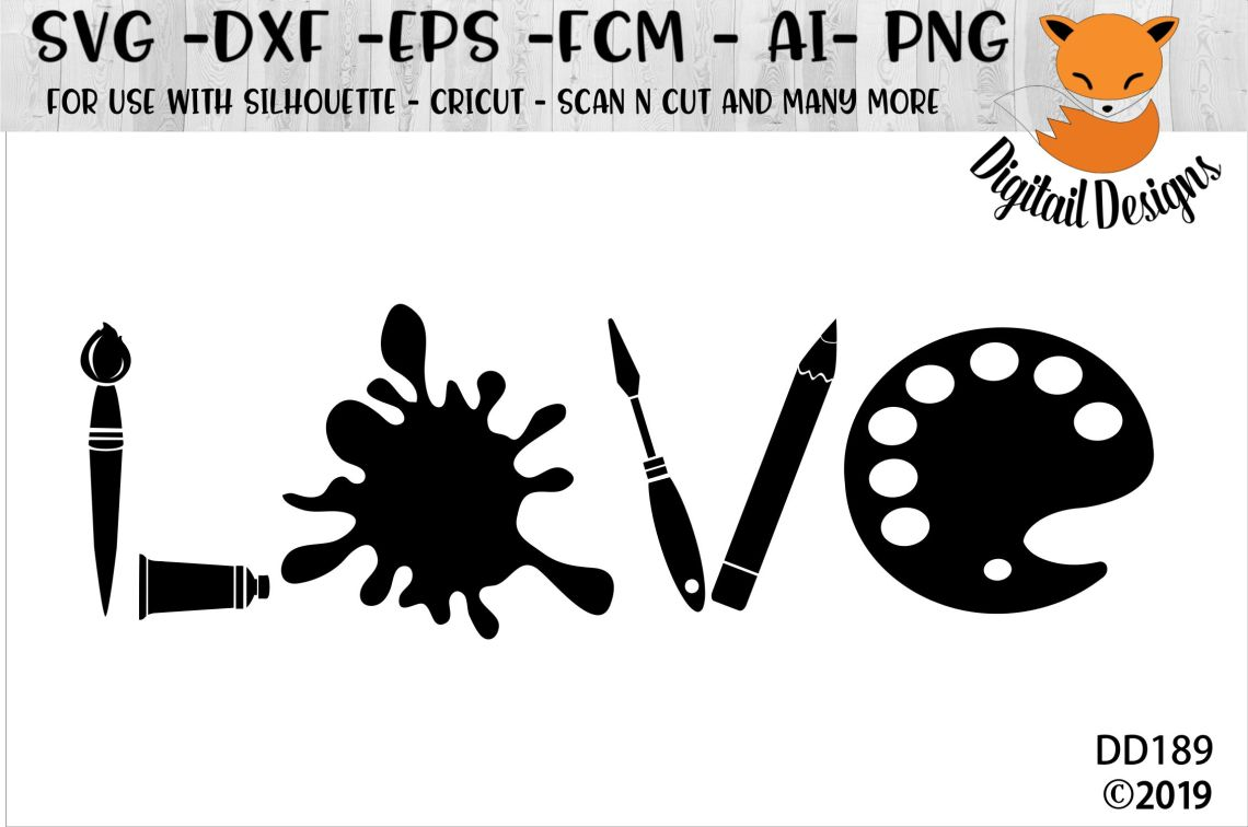 Download Artist Love SVG (103937) | Cut Files | Design Bundles