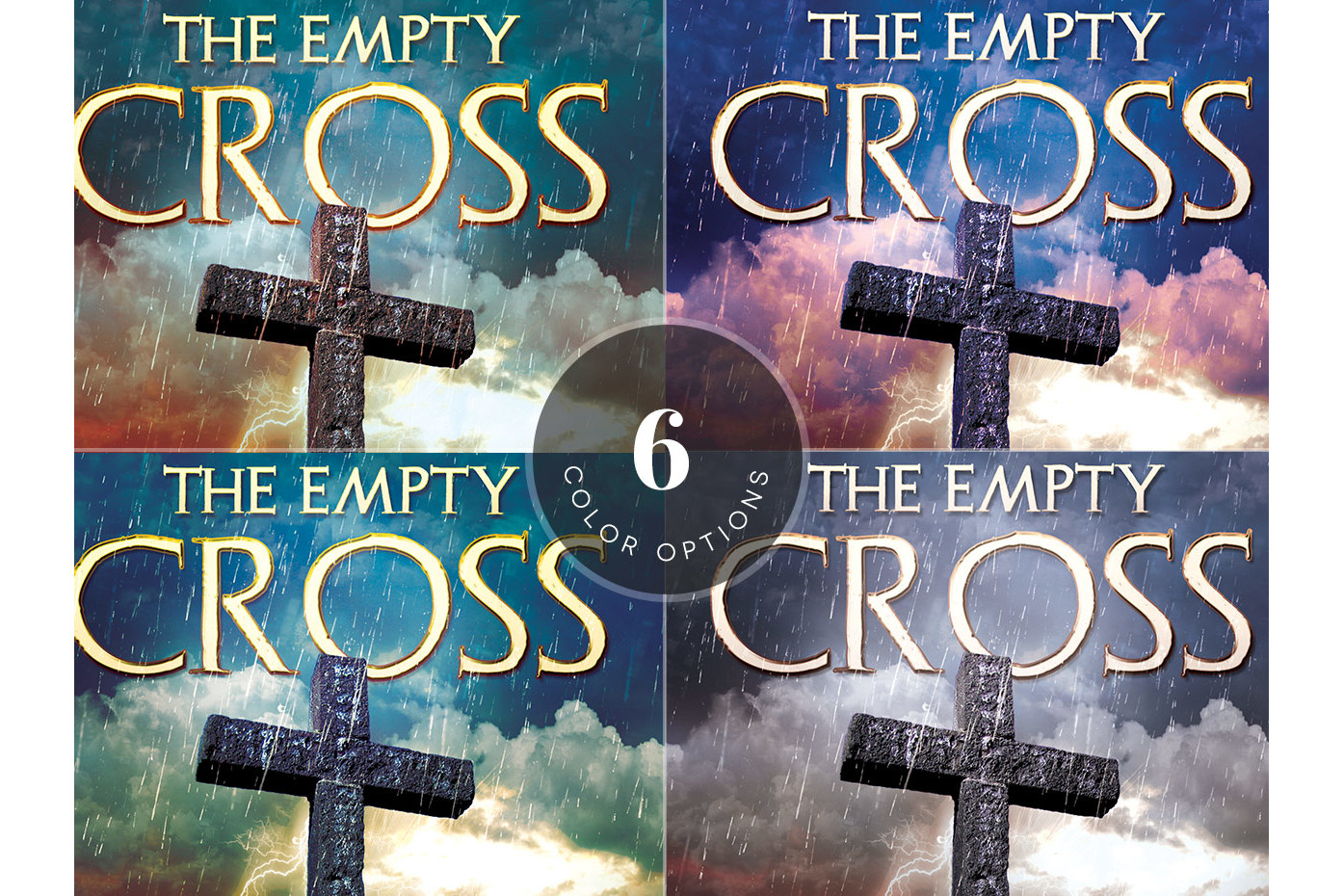 Empty Cross Easter Flyer Template Example Image 3