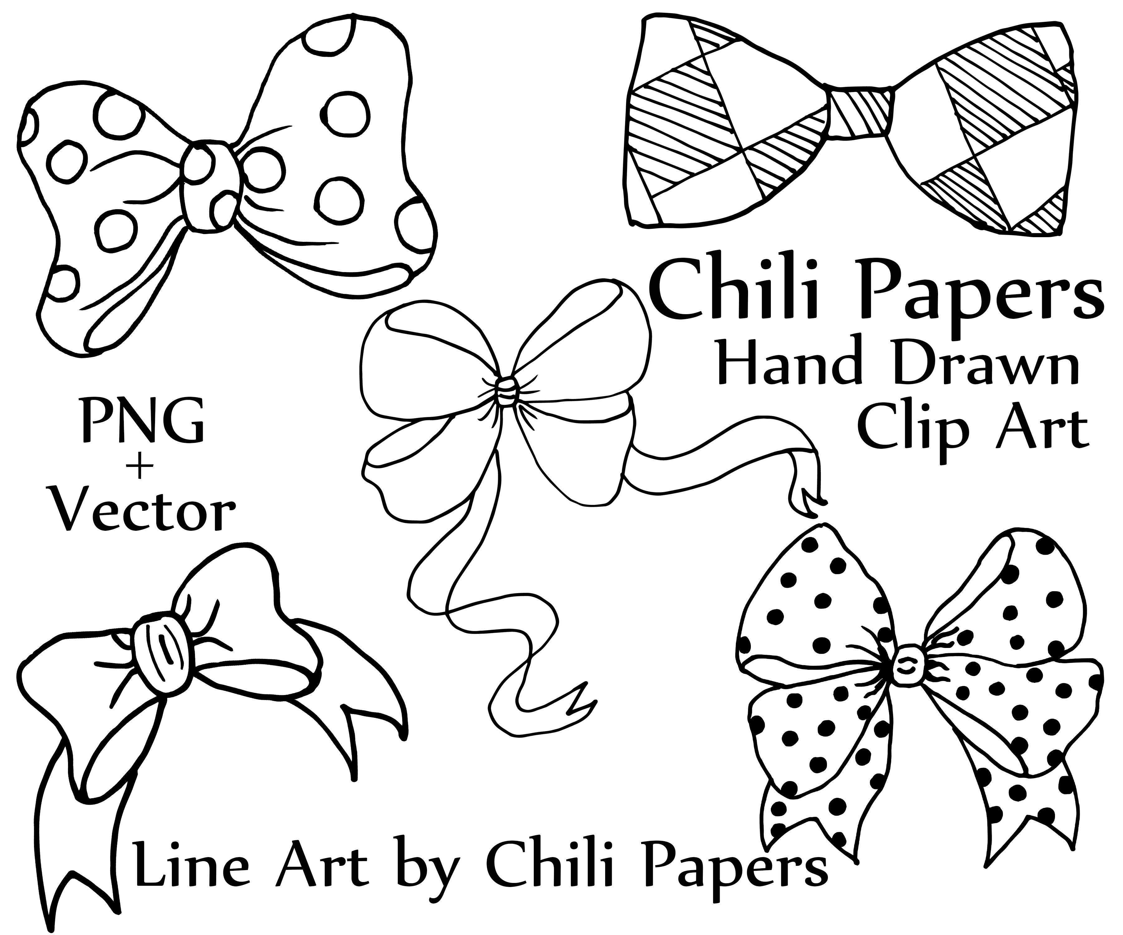 Bow Clip Art And Vector Files