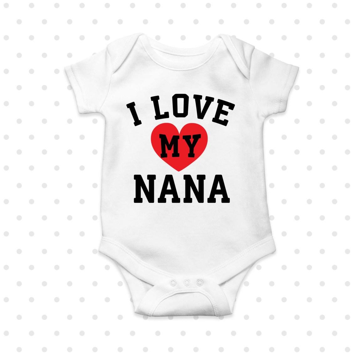 Download I love my nana Printable (96739)   Printables   Design Bundles