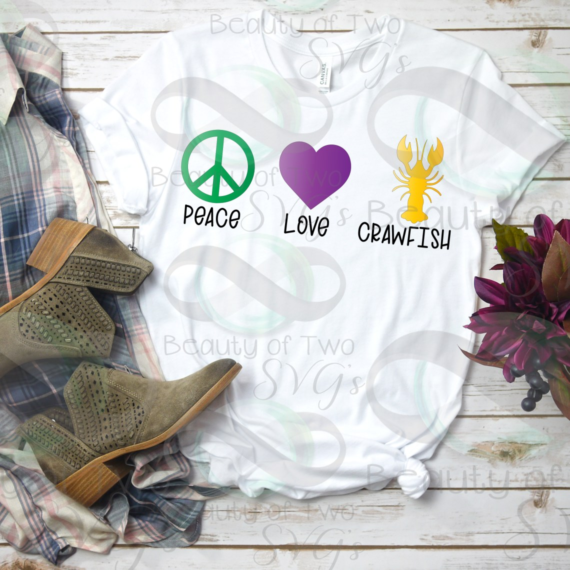 Download Crawfish svg & png, Peace love crawfish svg, Louisiana svg ...