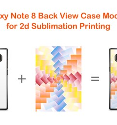 samsung galaxy note 8 2dcase mockup back example image 2 [ 1160 x 772 Pixel ]
