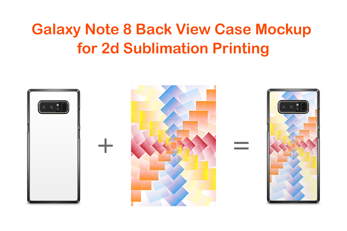 hight resolution of samsung galaxy note 8 2dcase mockup back example image 2