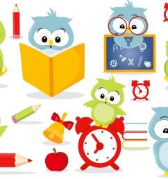 owls in school clipart owls in school graphics example image 1 [ 3125 x 2083 Pixel ]