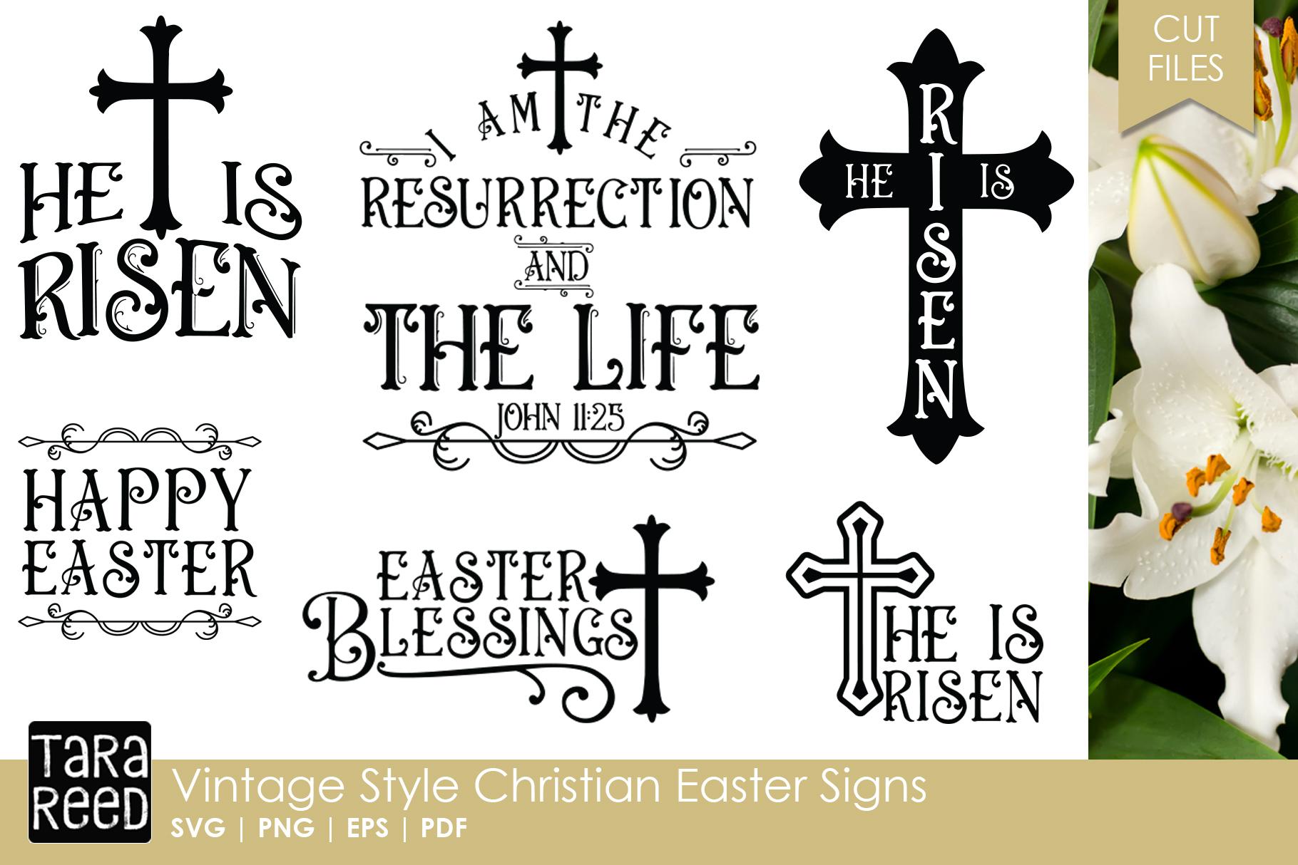 vintage christian easter signs