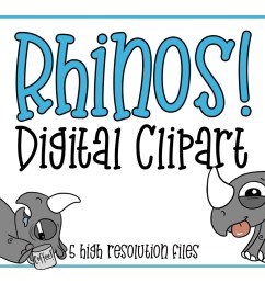 rhino clipart africa clipart animal clipart zoo animal horned animal rhino [ 1160 x 772 Pixel ]