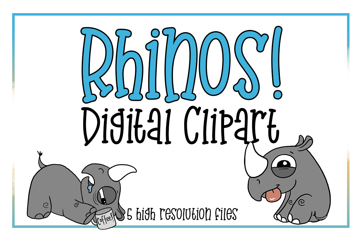 hight resolution of rhino clipart africa clipart animal clipart zoo animal horned animal rhino
