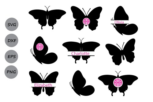 small resolution of butterfly svg butterfly monogram svg butterflies svg butterfly clipart butterfly silhouette