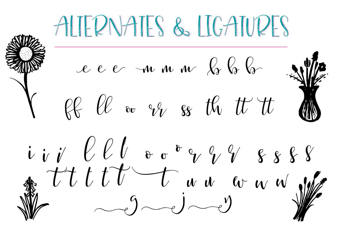 Just Write Layered Font