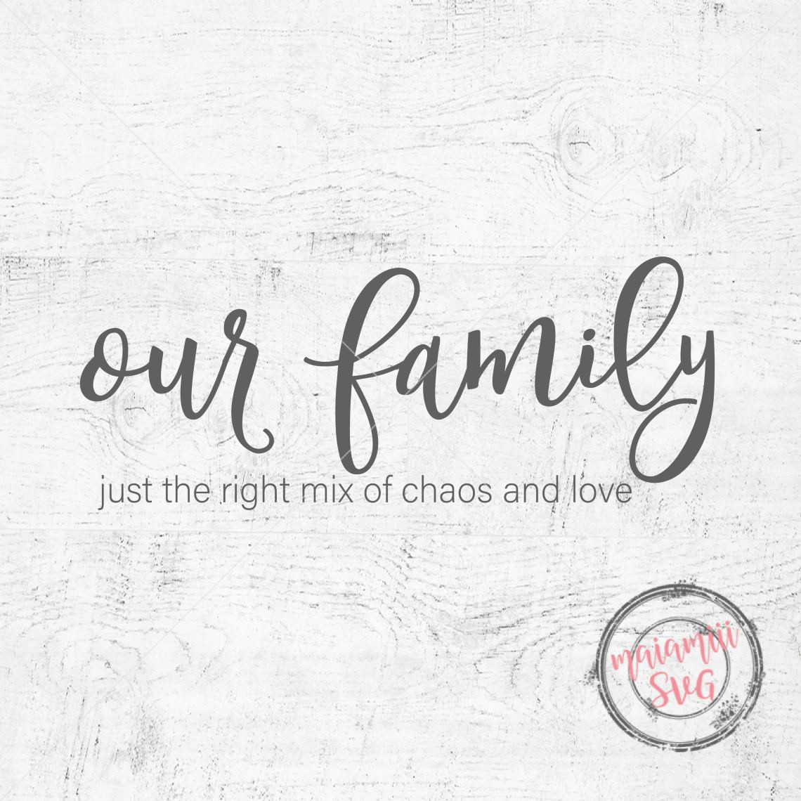 Download Family Svg Home Svg Our Family Cut File Home Decor Svg ...