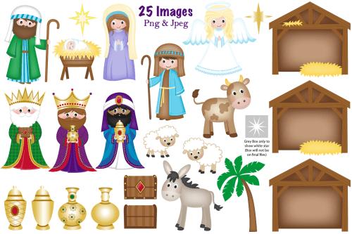 small resolution of nativity clipart christmas nativity nativity scene example image 2