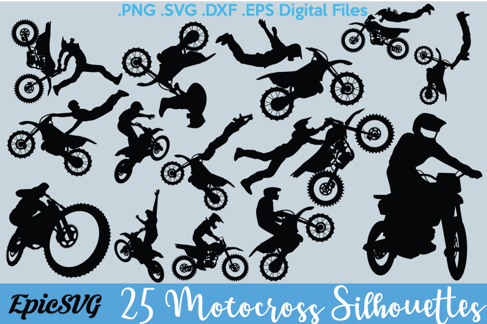 medium resolution of eps dxf png dirtbike