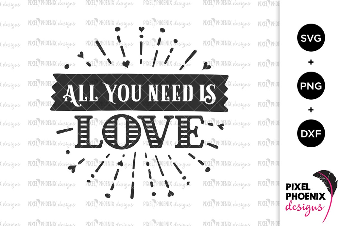 Download All You Need Is Love SVG