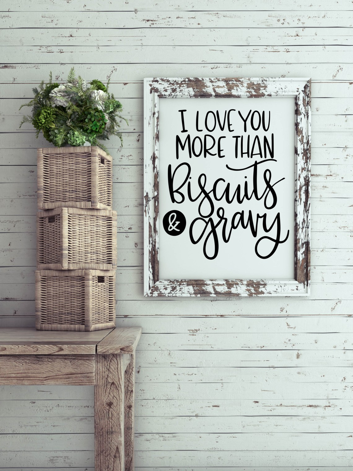 Download I Love You More Than Biscuits & Gravy SVG (20706) | SVGs ...