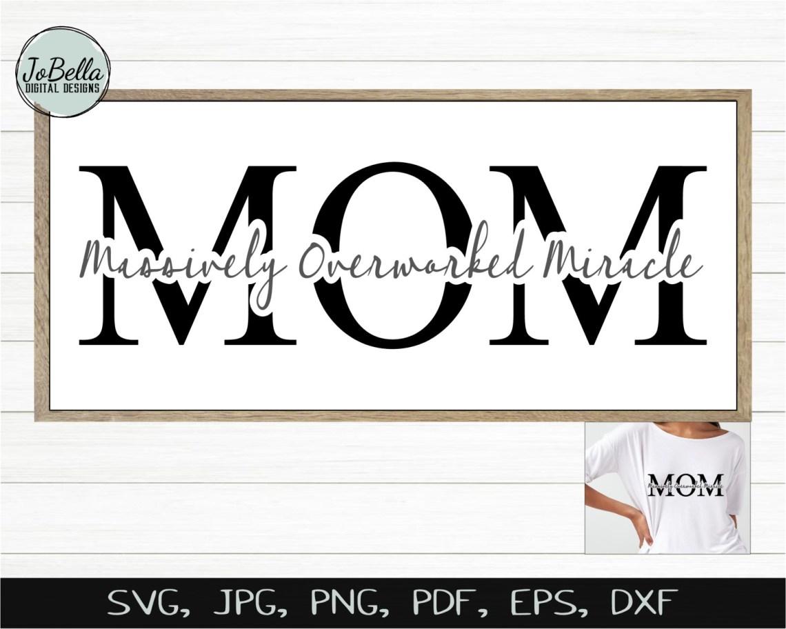 Download I Love Mom SVG Bundle, Printables & Sublimation Designs