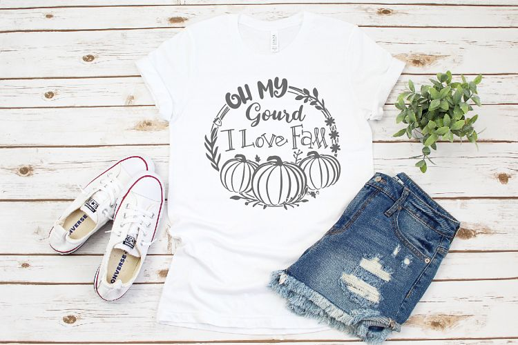 Download Fall SVG, Oh My Gourd I LoveFall SVG Digital Cutting File ...