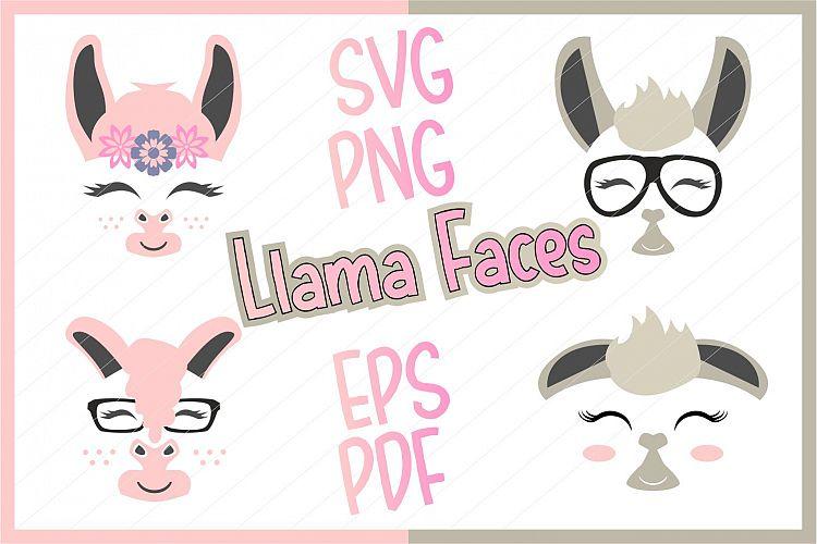 Download llama svg, llama cut file, llama clipart, llama face ...