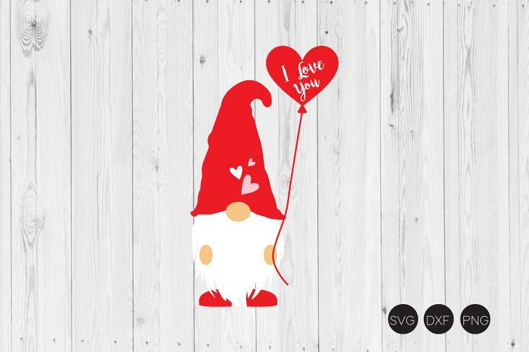 Download I Love You SVG, Gnome SVG, Valentine Gnome SVG (414396 ...