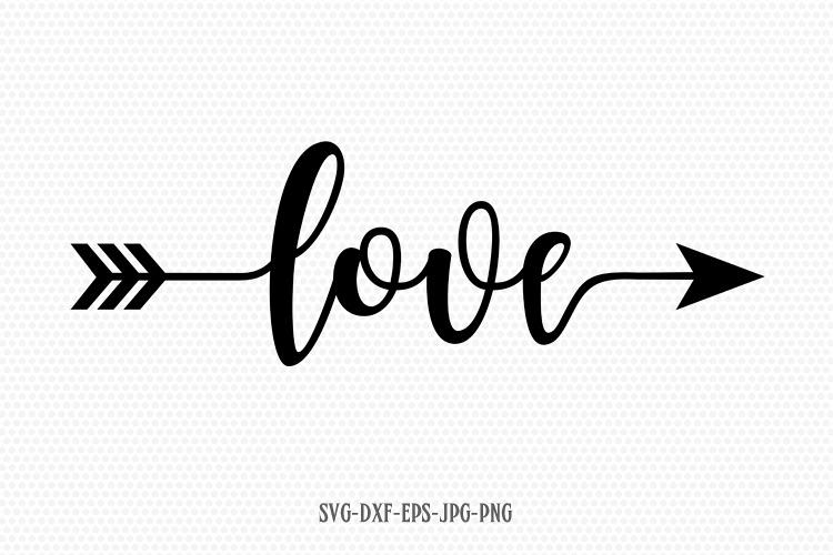 Download Love Valentine SVG, Valentines Day SVG, Love arrow SVG ...