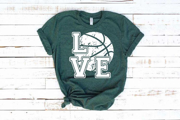 Download Love Basketball svg valentine's day Basket ball 1157S ...