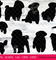 maltese dog silhouette clipart clip art ai eps svgs jpgs pngs [ 1200 x 800 Pixel ]