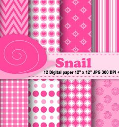 snail digital paper bugs background flowers pattern insects background printables snail [ 1200 x 800 Pixel ]