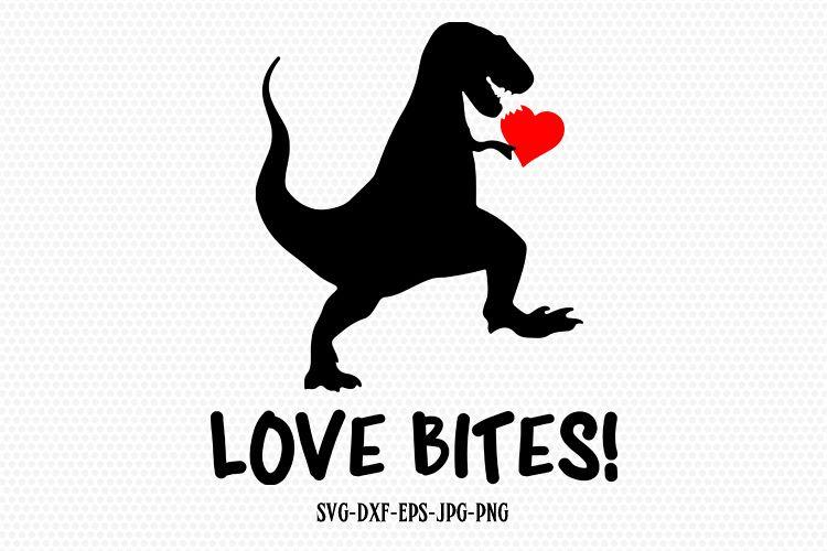Download Love Bites Dinosaur svg, Valentine SVG, Valentines Day SVG