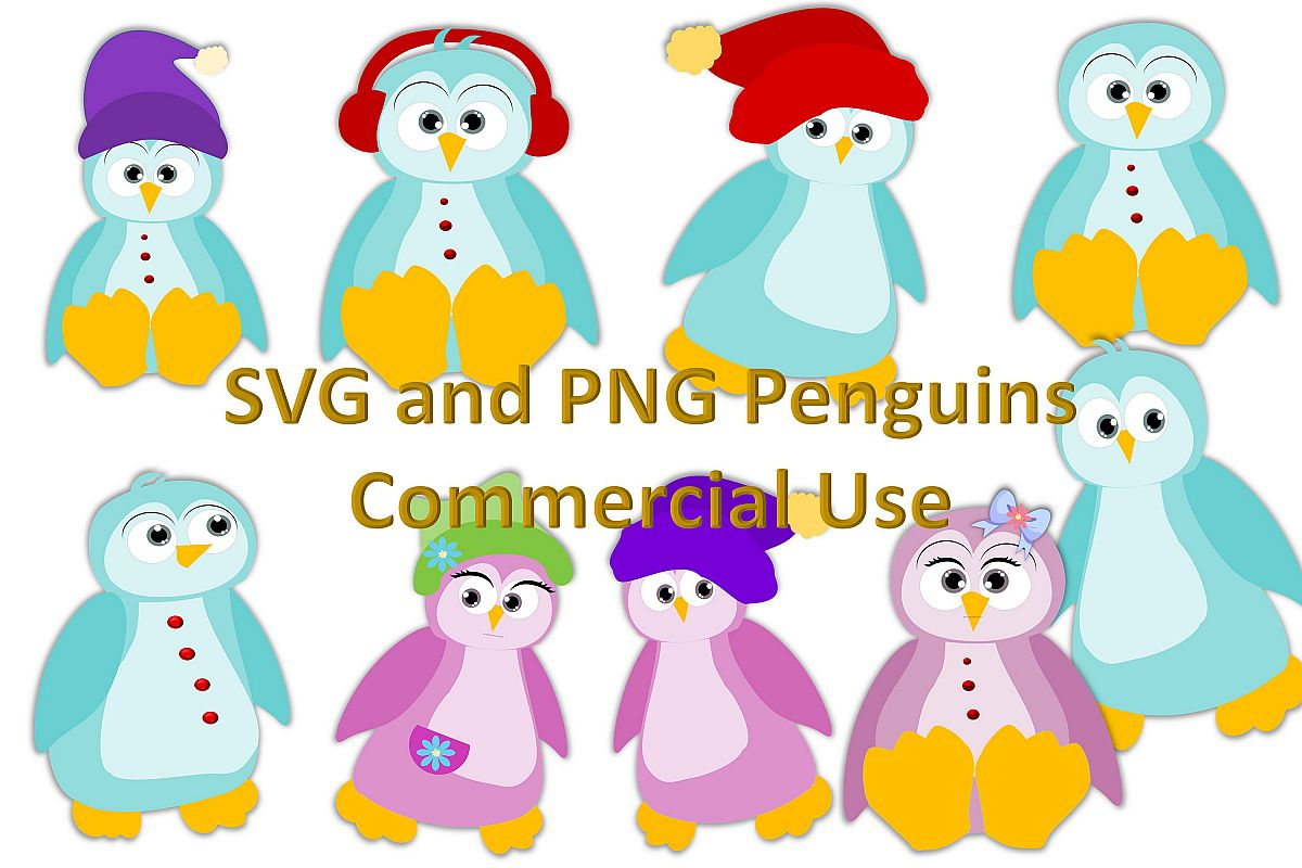 hight resolution of penguin clipart collection commercial use example image 1