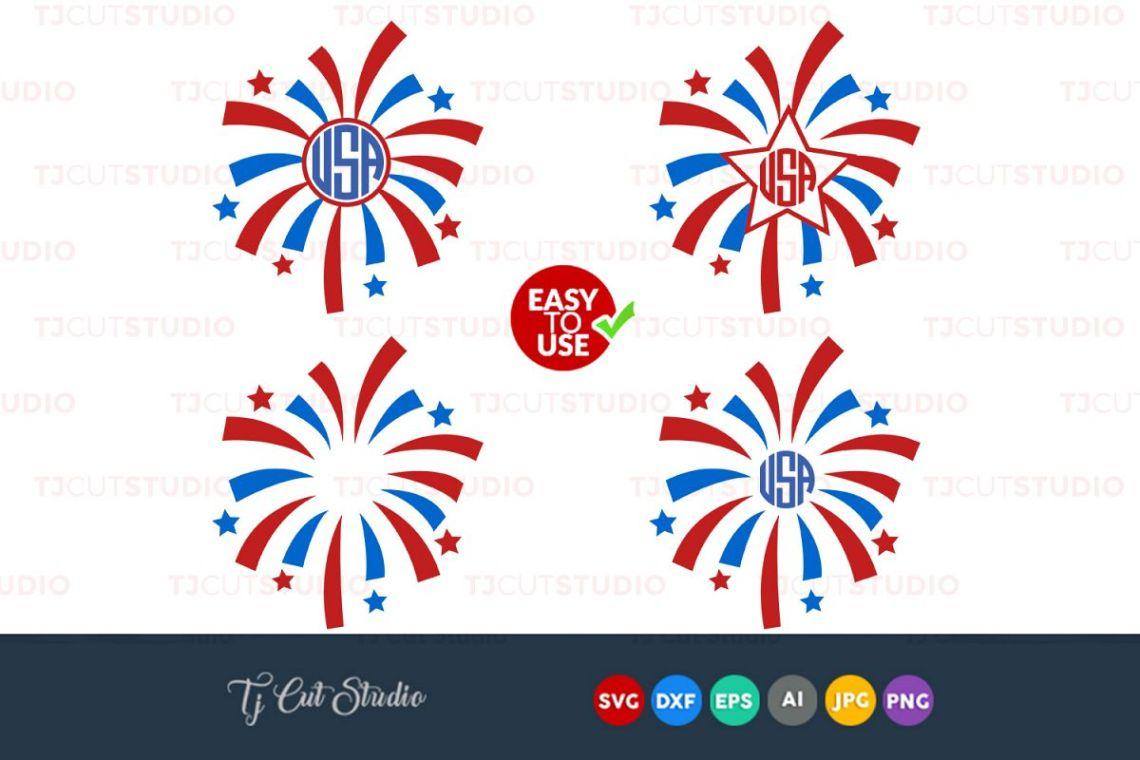 Download Fireworks Svg, 4th of July svg, Summer svg, Files for ...