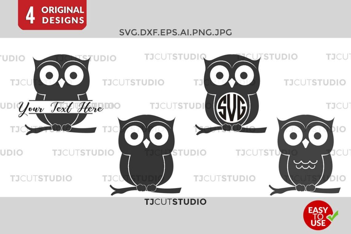 Download Owl SVG, Owl Monogram , Owls Monogram, Monogram Owl, Svg ...