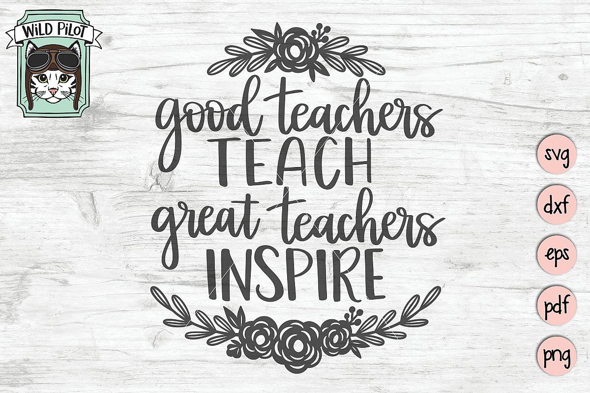 teacher quote svg good