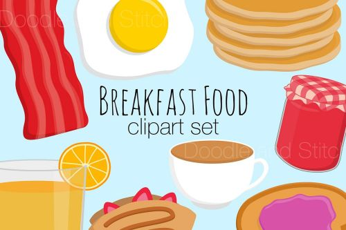 small resolution of breakfast food clipart illustrations example image 1