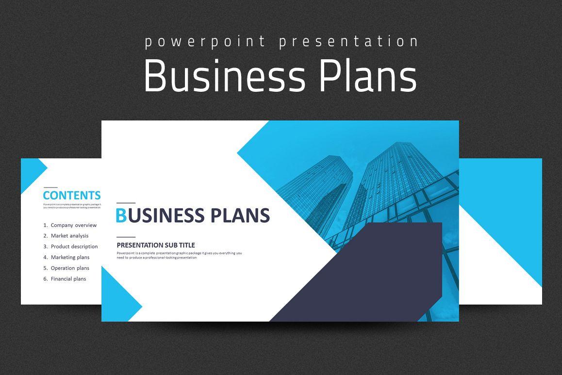 Business Plans Presentation Strategy