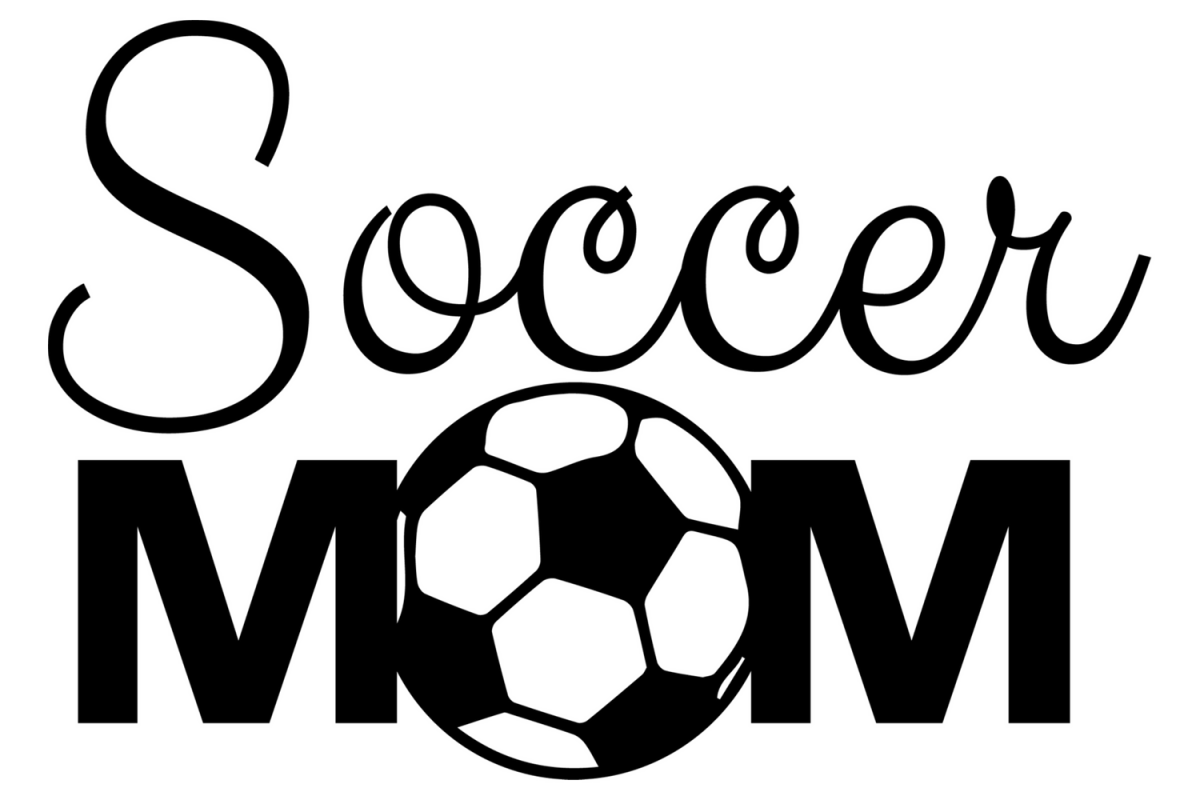 Soccer mom svg cut file Soccer lover t-shirt decal cut file