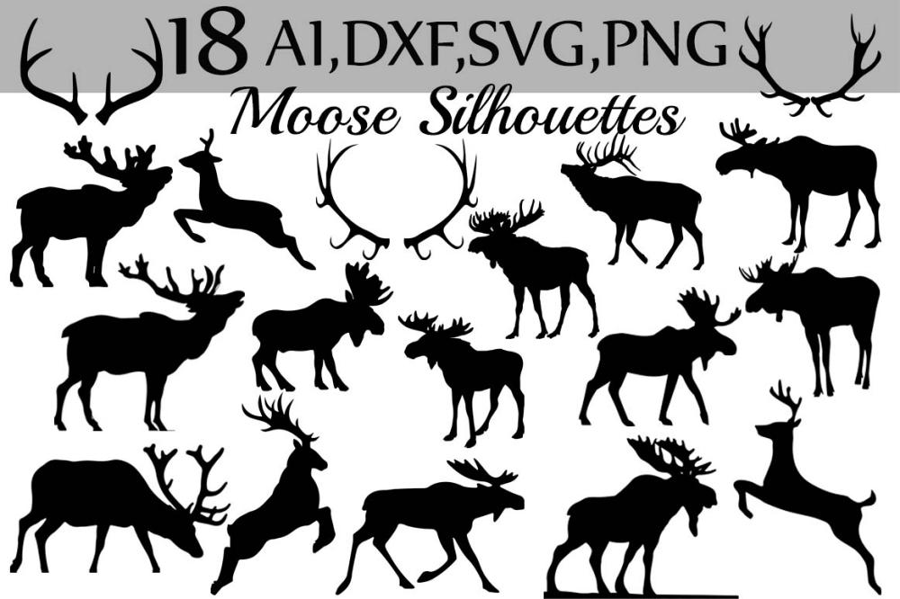 medium resolution of svg moose clipart example image 1