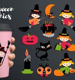 halloween witch clipart soup pot cat moon pumpkin example image 1 [ 1200 x 800 Pixel ]