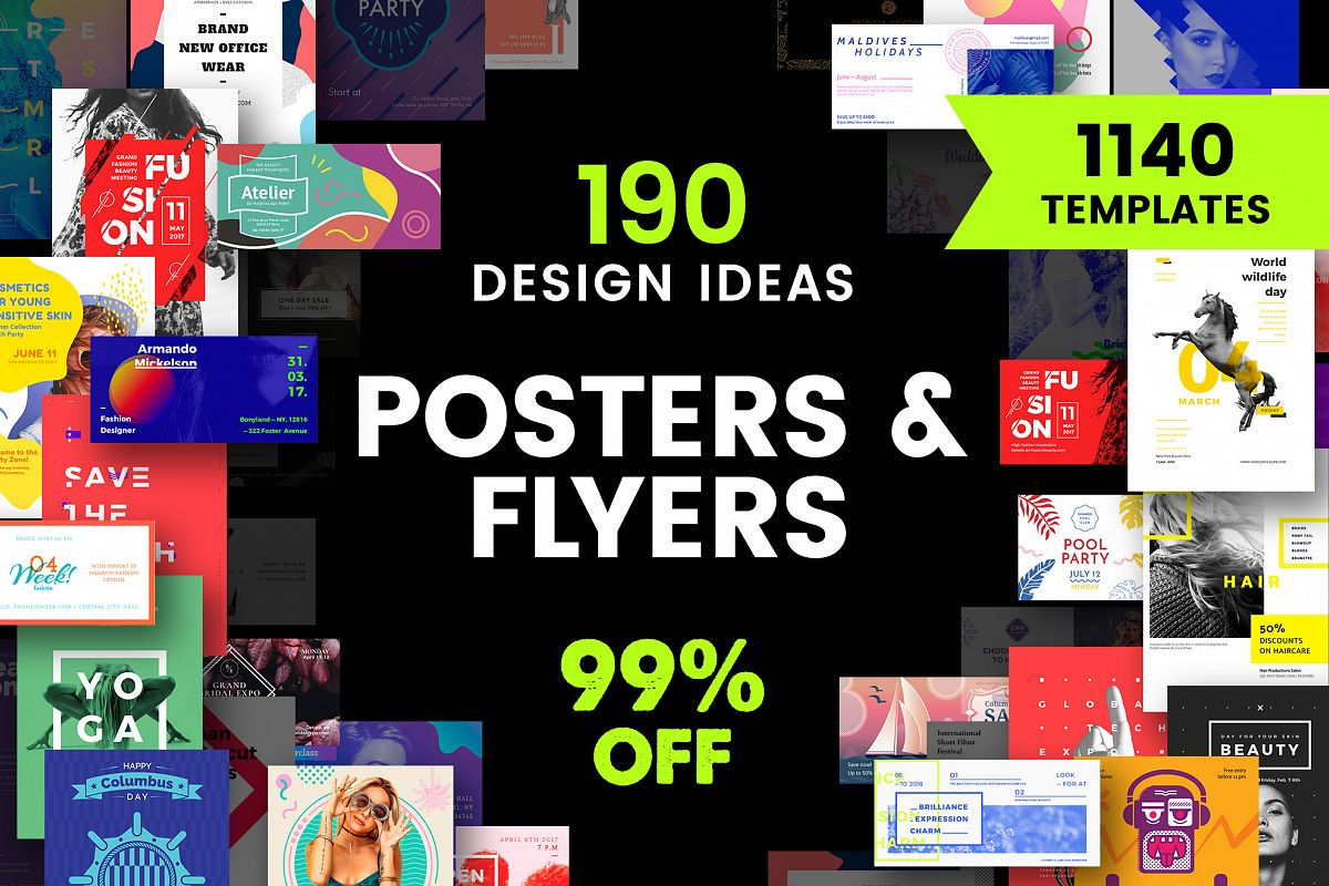 poster flyer design templates