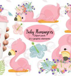 flamingo clipart baby flamingo clipart amb 2470 example image 1 [ 1158 x 772 Pixel ]