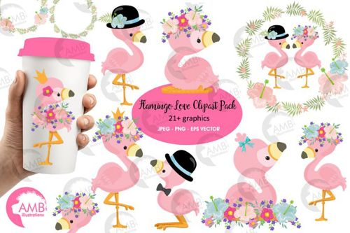 small resolution of flamingo clipart flamingo love clipart amb 2472 example image 1