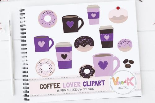 small resolution of donuts and coffee clipart set coffee clipart donuts clipart coffee lover food