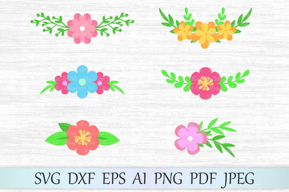 flower svg file floral