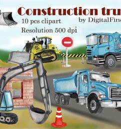 construction truck clipart dump truck excavator clipart example image 1 [ 1200 x 800 Pixel ]