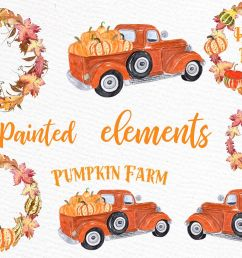 pumpkin farm clipart truck with pumpkins thanksgiving quote example image 1 [ 1162 x 774 Pixel ]