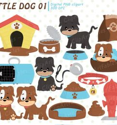 cute dog clipart puppy clip art pet baby dogs paws example image [ 1200 x 800 Pixel ]