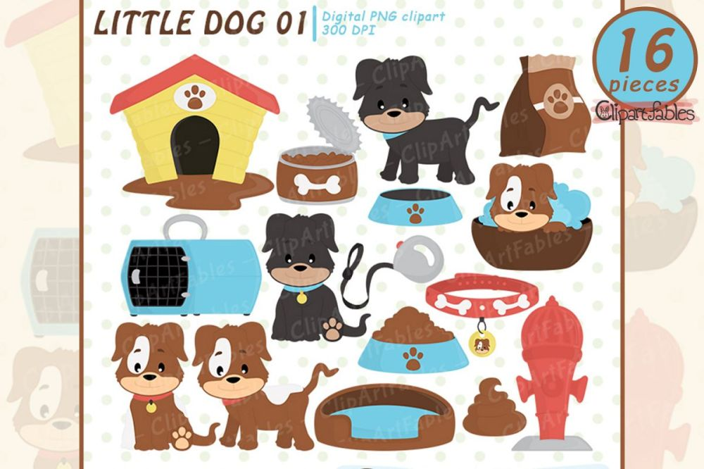 medium resolution of cute dog clipart puppy clip art pet baby dogs paws example image