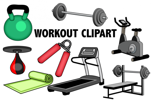 small resolution of workout clipart example image 1